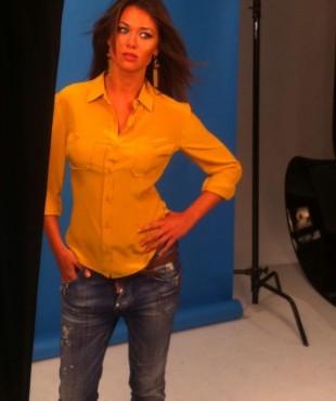 Анна Кастерова, фотосессия в студии
