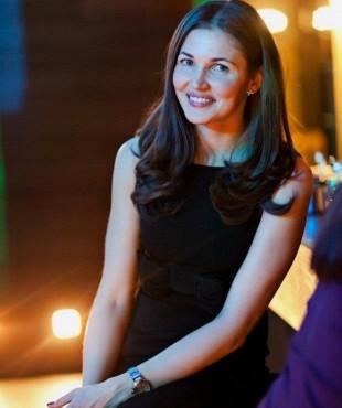 Ирина Шадрина в вечернем наряде