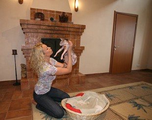 Екатерина Коновалова показала квартиру, дом (2)