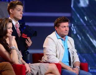Ирина Шадрина, ведущая Россия 2 на шоу Удар Головой