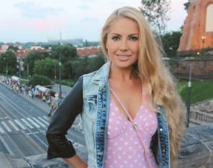 Катерина Кирильчева в сюжете программы про жен фанатов на телеканале Москва 24