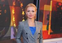 Фото Ирины Сашиной, телеведущей канала РЕН и ТВЦ