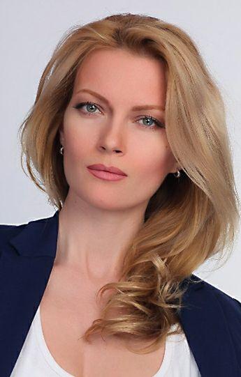 Телеведущая Алена Горенко