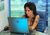 Татьяна Герасимова: первое интервью в качестве ведущей Армейского Магазина, 2006 г.