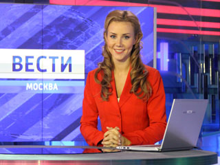 Екатерина Григорова, ведущая Вести-Москва