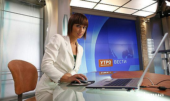 Ирина Муромцева, ведущая Утро России