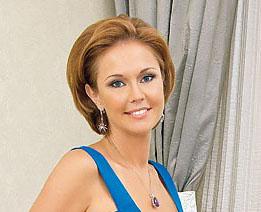 Ольга Кокорекина, ведущая