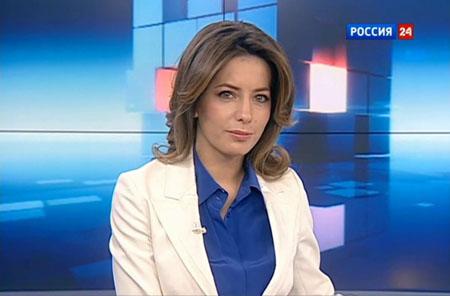Татьяна Столярова, Россия 24, ведушая