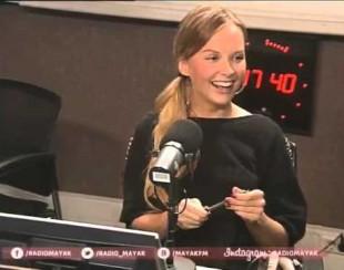 Интервью с телеведущей канала Россия 24 Ксенией Демидовой