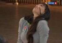 Зарядка с Марией Горбань на телеканале 'Россия 2′