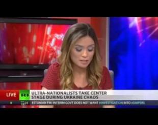 Лиз Валь, ведущая телеканала RT объявила об увольнении в прямом эфире