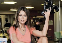 Анна Кастерова занимается боксом, чтобы оставаться стройной