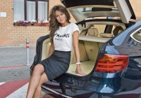 Анна Кастерова протестировала BMW 3 GT