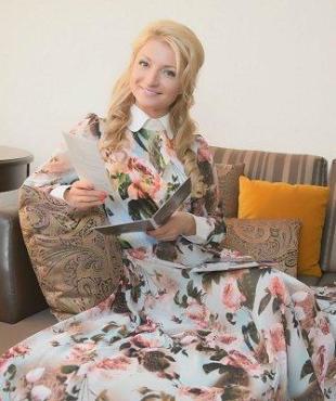 Анастасия Дьякова, ведущая, Пятый Канал, Санкт-Петербург