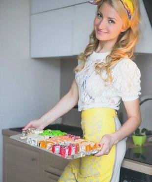 Анастасия Дьякова редко готовит