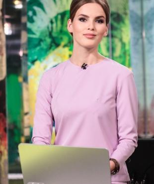 Светлана Милорадова, телеведущая, Россия 2